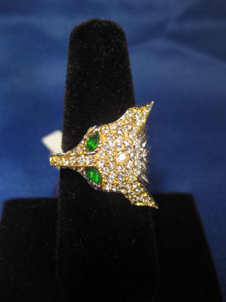 Brand New Unique Art Deco Limited Edition Rings Designed