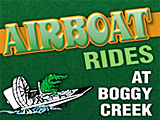 Airboat Ride Boggy Creek